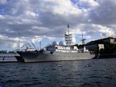 Free Military Ship Stock Photo - 3364180