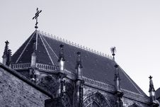 The Dom Of Aachen Royalty Free Stock Image