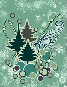 Free Abstract Winter Series Stock Image - 3364981