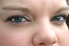 Free Eyes Looking At You Royalty Free Stock Photography - 3365547