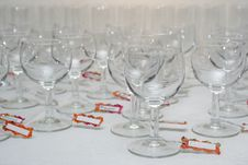 Free Water Glasses For Party Stock Images - 3365664