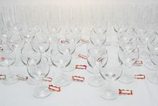 Free Water Glasses For Party Royalty Free Stock Photo - 3365665