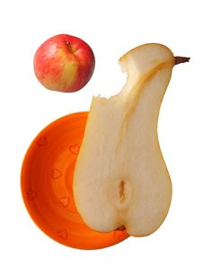 Hungry Pear Stock Photography