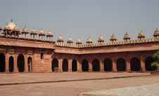 Mosque At Fatehpur Sikri Stock Image