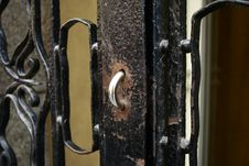Free Door And Knobs Royalty Free Stock Photography - 3366487