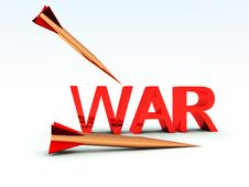 War Missiles 9 Royalty Free Stock Image