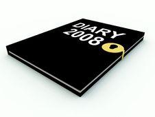 Diary 4 Stock Photography