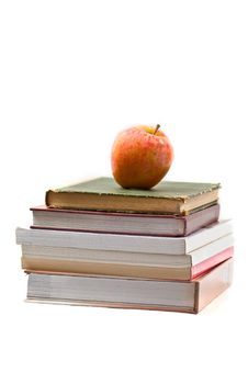 Free Books And Apple Royalty Free Stock Photos - 3369118
