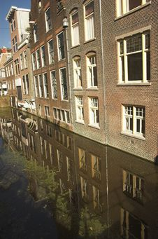 Free Streets Of Delft Royalty Free Stock Image - 3369566
