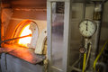 Free Furnaces In The Glass Factory Royalty Free Stock Image - 33608806