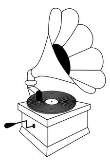 Free Gramophone Stock Image - 33600441