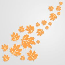 Free Abstract Autumn Background Royalty Free Stock Photos - 33602198