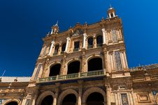 Free Spanish Square In Sevilla, Spain Royalty Free Stock Images - 33607479