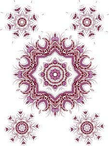 Free Mandala Henna Design Fashion Royalty Free Stock Photography - 33608387