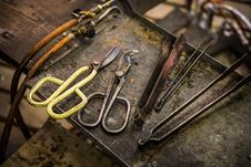 Free Pliers In The Workshop Stock Photos - 33608593