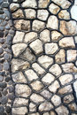 Free Fragment Of An Modern Handmade Stone Wall As Backgrounds. Royalty Free Stock Photo - 33616335