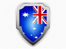 Free Flag Of Australia Royalty Free Stock Photos - 33613398