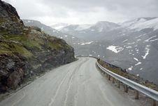 Free Norway. Serpentine Mountain Highways Royalty Free Stock Photos - 33614118