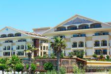 Free Beautiful Resort Located On The Sea Coast. Stock Image - 33616491