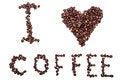 Free I Love Coffee Stock Image - 33646971