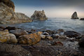 Free Rocks In Ocean Stock Photo - 33647200