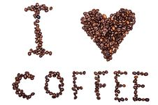 Free I Love Coffee Stock Image - 33646971