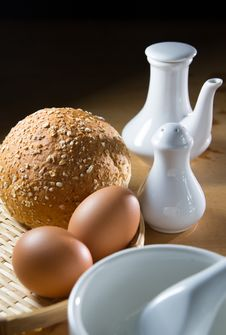 Free Breakfast Stock Image - 33647811