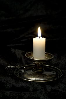 Free Old Time Candlestick Stock Photos - 33649083