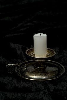 Free Old Time Candlestick Stock Images - 33649104