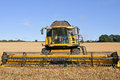 Free The Combine Harvester Royalty Free Stock Image - 33659746