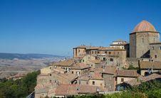 Free Volterra In Italy Skyline Royalty Free Stock Photos - 33650498