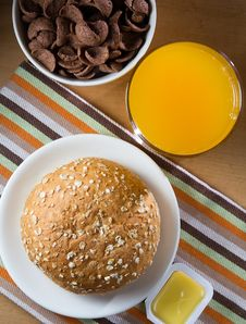 Free Breakfast Stock Image - 33650991