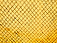 Free Yellow Tiled Wall Stock Image - 33653941