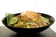 Thailand Food  Noodles &x28;Pad Thai&x29; Royalty Free Stock Photo