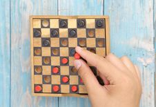 Free Wooden Board Game Stock Image - 33655401