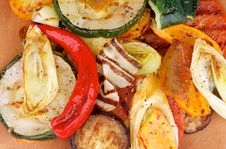Free Grilled Vegetables Royalty Free Stock Photography - 33656867