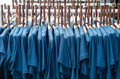 Free Clothes And Wood Coat Hanger Stock Photography - 33660752