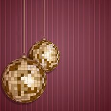 Free ChristmasBalls Stock Photos - 33662043