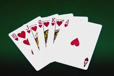 Free Playing Cards Royalty Free Stock Images - 33662099