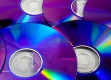 Free Rainbow DVD Stock Image - 33662151