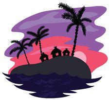 Free Island Royalty Free Stock Image - 33698626