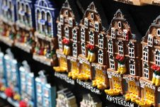 Typical Souvenirs In Amsterdam Royalty Free Stock Photos