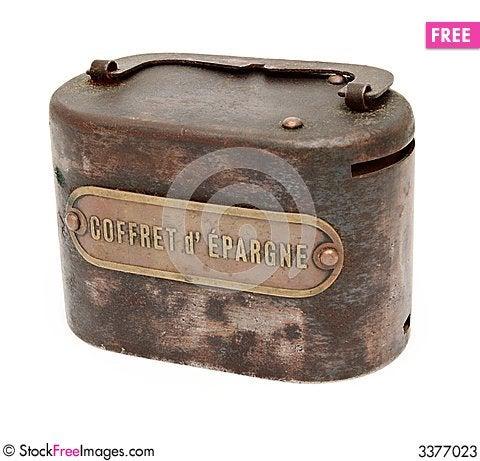 Free Antique Coin Bank Stock Photos - 3377023
