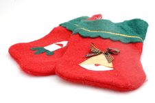 Free Christmas Stocking Royalty Free Stock Photography - 3370617