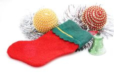 Free Christmas Stocking Stock Photo - 3370770