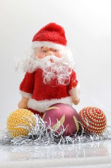 Free Santa Claus Toy Stock Photography - 3370832