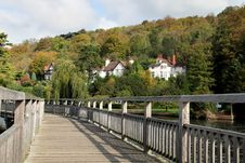 Free Boardwalk Over A River Stock Photo - 3371000