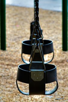 Free Swings Royalty Free Stock Photography - 3371157