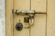 Free Rusty Padlock Stock Photo - 3371740