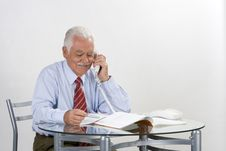 Free Businessman Grandfather Stock Image - 3372241